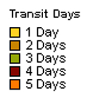 Transit Days Outbound